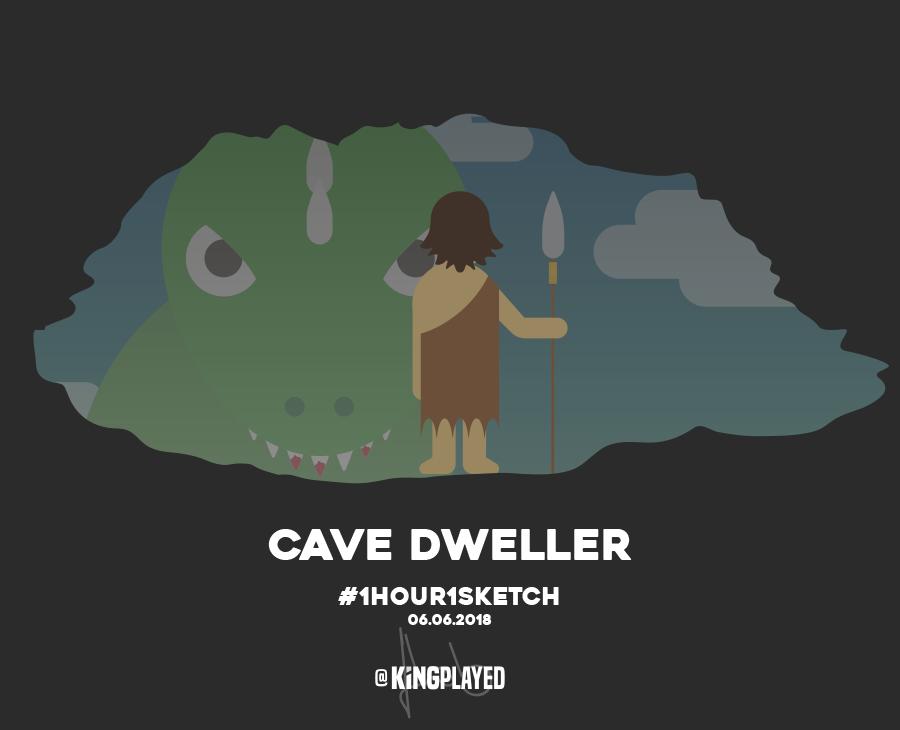 illustration_cave-dweller_1hour1sketch_01