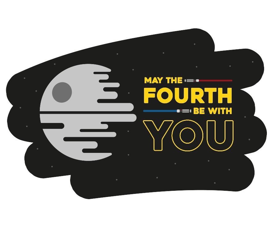 Illustration Star Wars May the 4th
