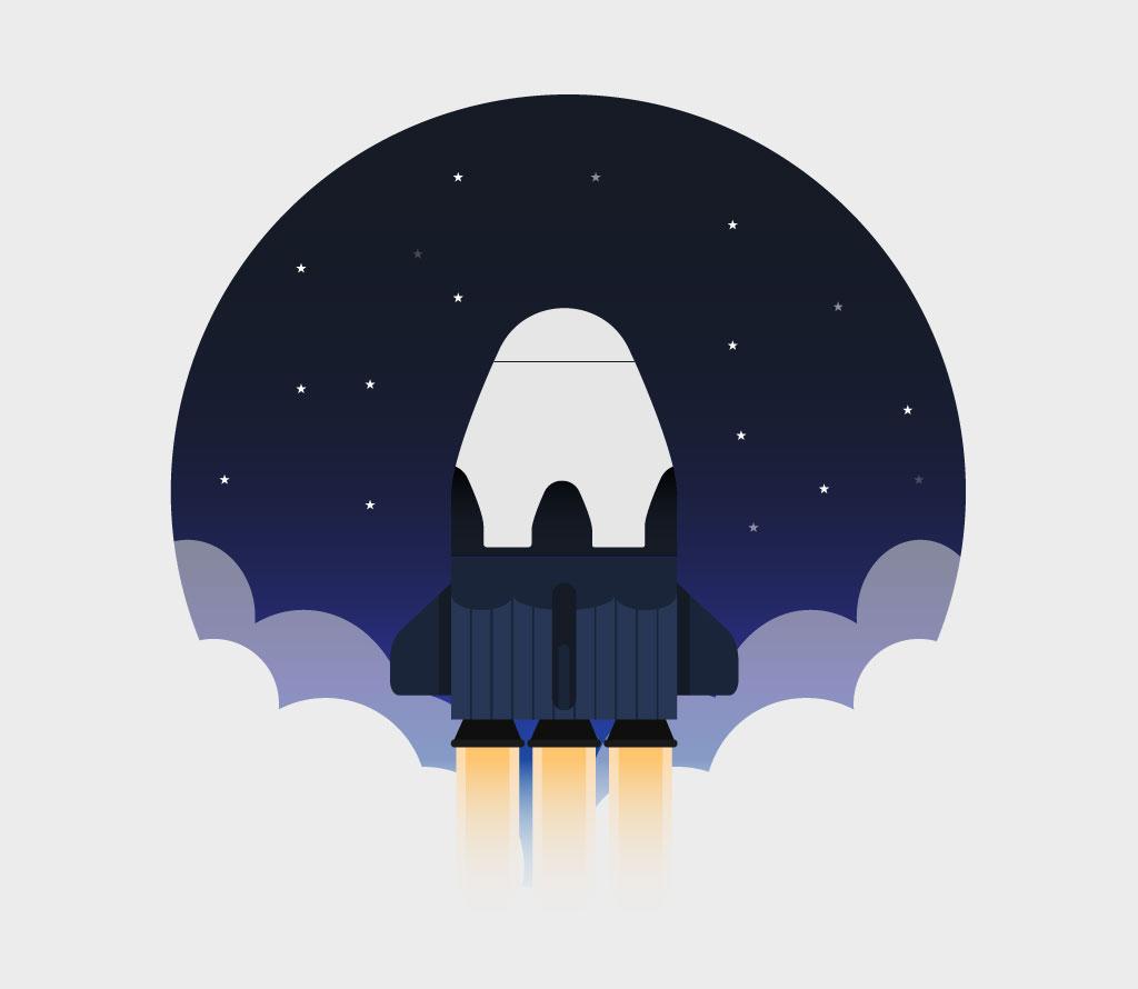 Key Visual Rocket